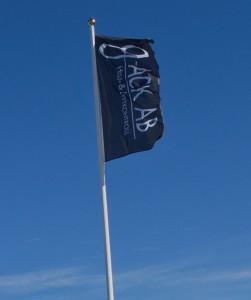 Flagga mork1